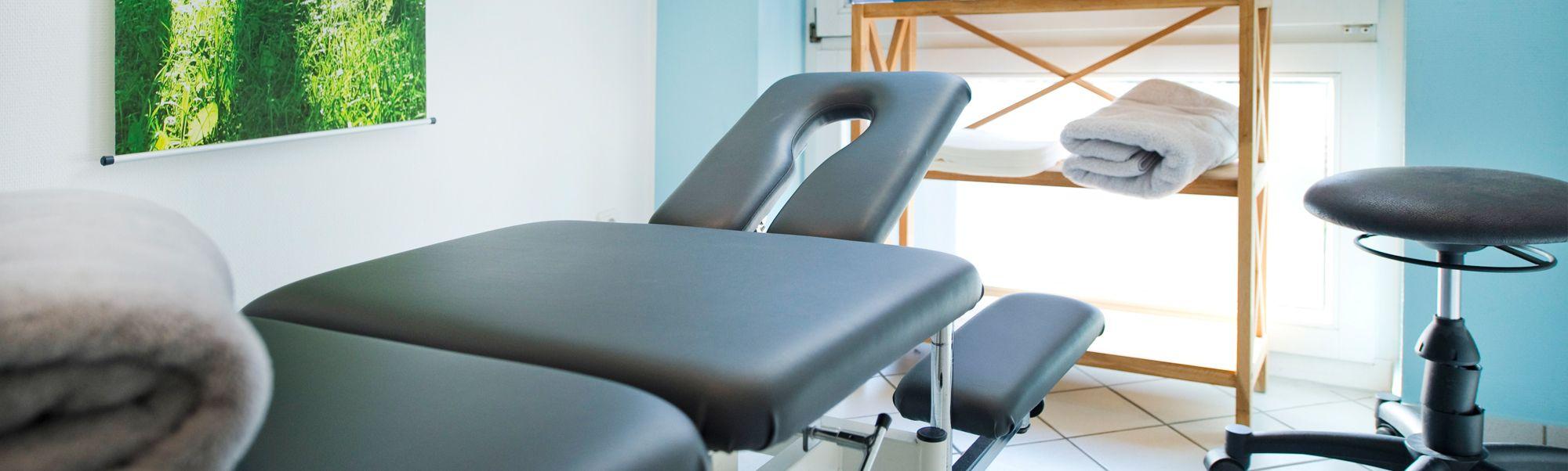 Praxis im Wiehen Park | Behandlungsraum